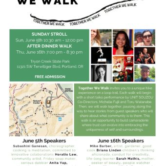 Together We Walk Poster(2)